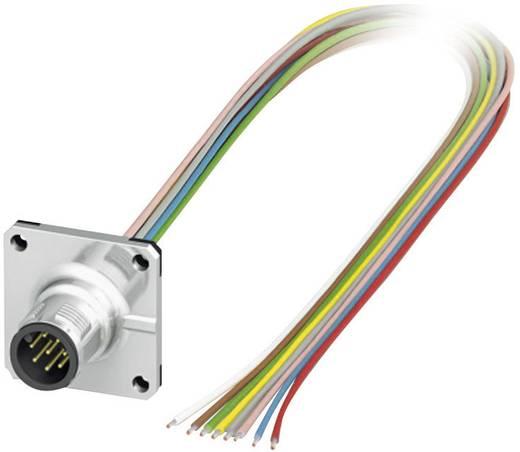 Sensor-/Aktor-Einbausteckverbinder M12 Stecker, Einbau 0.50 m Polzahl: 8 Phoenix Contact 1441561 SACC-SQ-M12MS-8CON-25F/