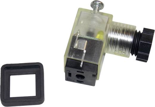 Ventilstecker SVS Eco LED Schwarz, Transparent SVS Eco Pole:3 Murr Elektronik Inhalt: 1 St.
