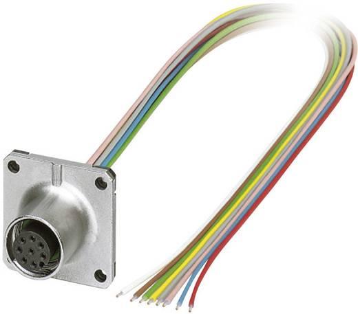 M12 Sensor-/Aktor-Einbausteckverbinder Pole: 8 SACC-SQ-M12FS-8CON-25F/0,5 Phoenix Contact Inhalt: 1 St.