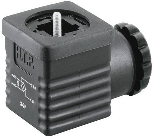 Ventilstecker mit Brückengleichrichter Schwarz G1NU2RV1 Pole:2 + PE HTP Inhalt: 1 St.
