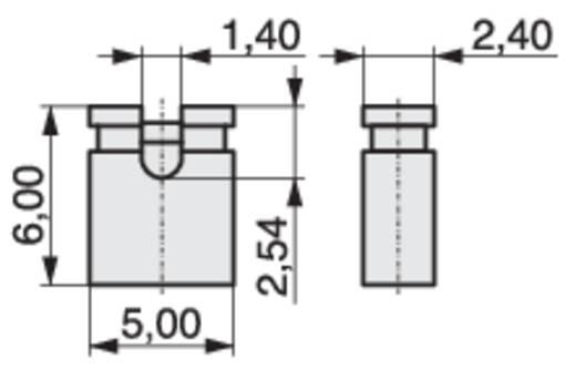Kurzschlussbrücke Rastermaß: 2.54 mm Pole:2 MPE Garry MP-Jump 600GG-02L Inhalt: 4000 St.