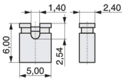 Kurzschlussbrücke Rastermaß: 2.54 mm Polzahl je Reihe:2 MPE Garry MP-Jump 600GG-03L Inhalt: 4000 St.