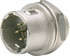 gerade  Gesamtpolzahl: 4 Hirose Electronic HR10A-7P-4P 73 Rundstecker Stecker