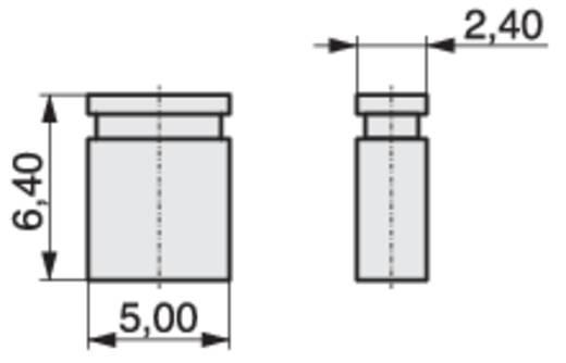 Kurzschlussbrücke Rastermaß: 2.54 mm Polzahl je Reihe:2 MPE Garry MP-Jump 640GG-00L Inhalt: 4000 St.