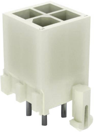 TE Connectivity Stiftgehäuse-Platine Mini-Universal-MATE-N-LOK Polzahl Gesamt 12 1-770186-0 1 St.