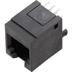 Image of BEL Stewart Connectors 1410-4000-07 Modulare Einbaubuchse 1410-4000-07 Buchse, gerade Pole: 6P6C Schwarz 1 St.