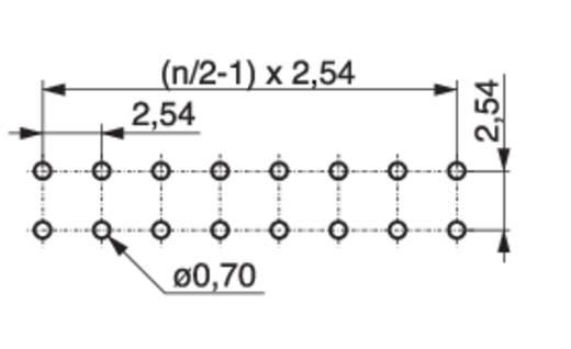 MPE Garry Buchsenleiste (Präzision) Anzahl Reihen: 2 Polzahl je Reihe: 10 115-3-020-0-MTF-XS0 300 St.