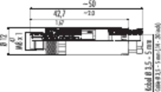 Sensor-/Aktor-Steckverbinder, unkonfektioniert M8 Stecker, gerade Polzahl: 3 Binder 99-3379-100-03 1 St.