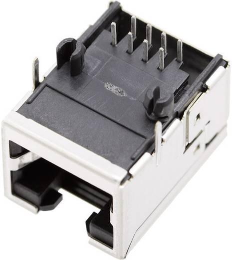 Modulare Einbaubuchse ohne Schirmlaschen Buchse, gewinkelt Pole: 8P8C 1450-2000-02 BEL Stewart Connectors 1450-2000-02 1 St.