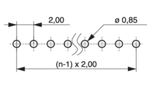 Stiftleiste (Standard) Anzahl Reihen: 1 Polzahl je Reihe: 4 MPE Garry 150-1-004-0-S-XS0-0835 2000 St.