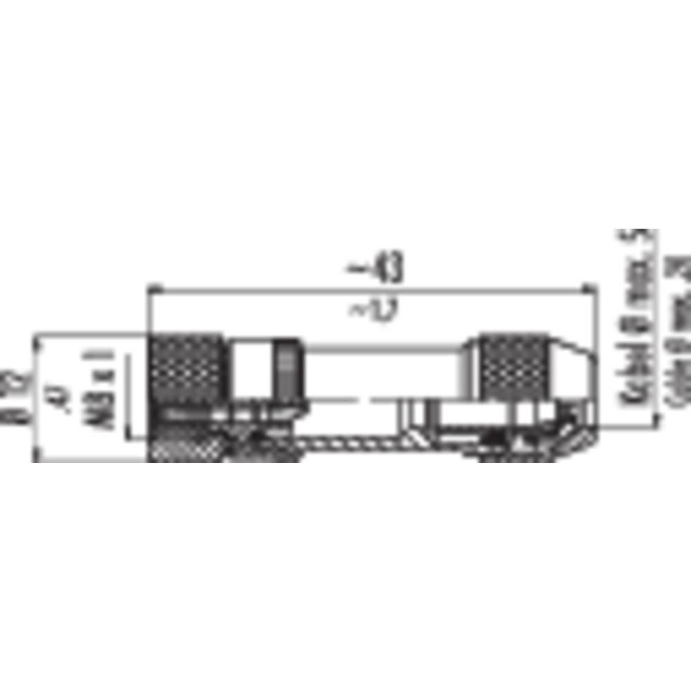 Binder 99-3362-00-04 Series 768, Sensor / Actuator Plug