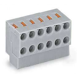 Zásuvkové púzdro na kábel WAGO 252-102, 11.00 mm, pólů 2, rozteč 3.50 mm, 600 ks