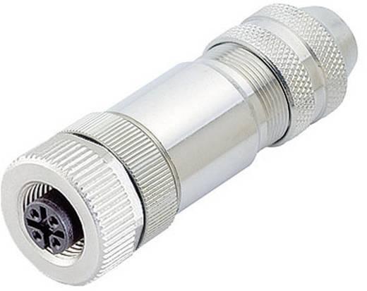 Binder 99-1430-812-04 Sensor-/Aktor-Steckverbinder, unkonfektioniert M12 Buchse, gerade Polzahl: 4 20 St.
