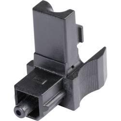 Toslink konektor zástrčka, rovná Hicon POF-TOS, pinov 1, čierna, 1 ks