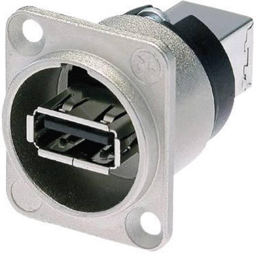 Reversible USB-Durchführung 2.0 Buchse, Einbau NAUSB-W Durchführung Neutrik Inhalt: 1 St.