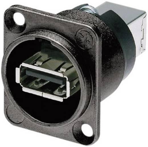 Reversible USB-Durchführung 2.0 Buchse, Einbau NAUSB-W-B Durchführung Neutrik Inhalt: 1 St.