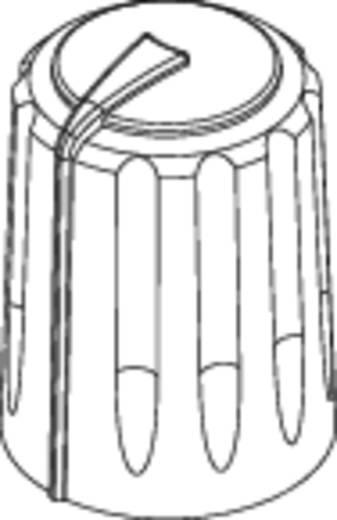 Drehknopf Schwarz/Rot (Ø x H) 11 mm x 15.15 mm Rean F 311 S 092 1 St.
