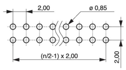 Stiftleiste (Standard) Anzahl Reihen: 2 Polzahl je Reihe: 4 MPE Garry 150-3-008-0-S-XS0-0835 1000 St.