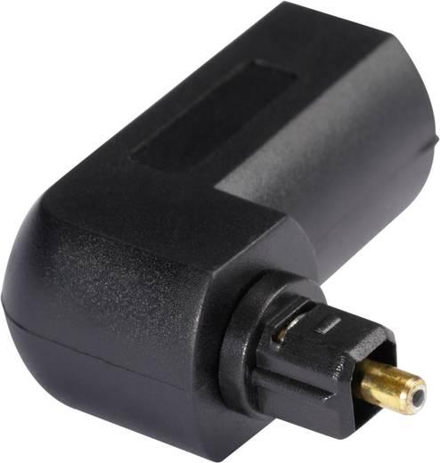 Toslink Digital-Audio Adapter [1x Toslink-Stecker (ODT) - 1x Toslink-Buchse (ODT)] 0 m Schwarz Hicon
