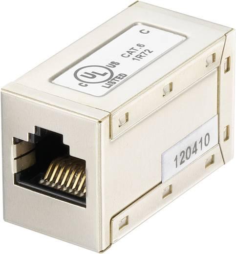 RJ45 (gekreuzt) Netzwerk Adapter CAT 6 [1x RJ45-Buchse - 1x RJ45-Buchse] 0 m Silber Digitus