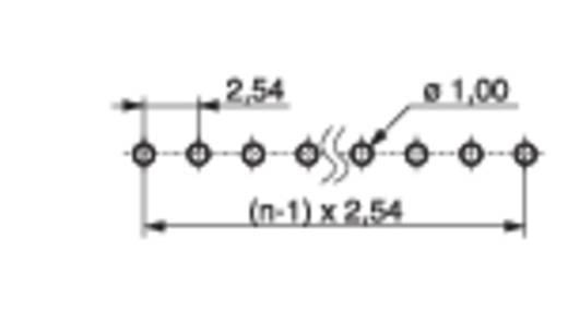 Stiftleiste (Standard) Anzahl Reihen: 1 Polzahl je Reihe: 36 MPE Garry 087-1-036-0-S-XS0-1260 200 St.