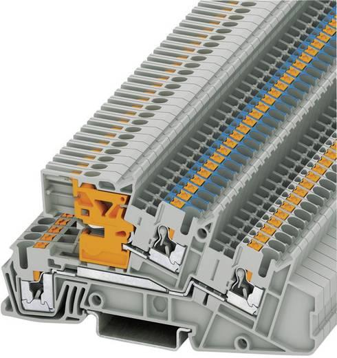 Push-In Dreistock-Installationsklemmen PTI PTI 2,5-L/NT Phoenix Contact Grau Inhalt: 1 St.