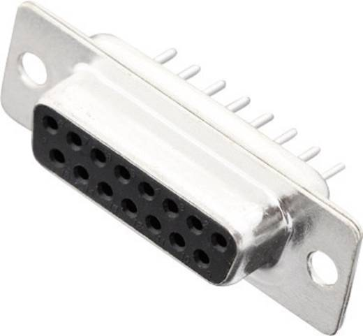 D-SUB Buchsenleiste 180 ° Polzahl: 15 Löten MH Connectors MHDD15-F-T-B-S 1 St.