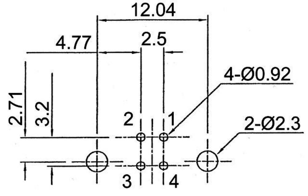 presa usb 2 0 da circuito stampato 180 u00b0 presa a