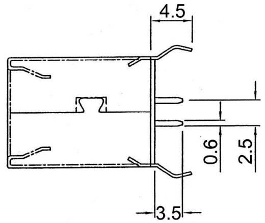 USB-Einbaubuchse 2.0 180° Buchse, Einbau A-USB B-TOP-C USB B ASSMANN WSW Inhalt: 1 St.