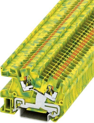 Push-In Schutzleiter-Installationsklemme PTI PTI 2,5-PE Phoenix Contact Grün-Gelb Inhalt: 1 St.