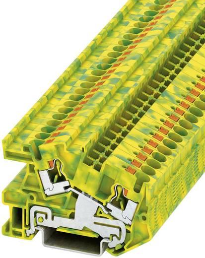 Push-In Schutzleiter-Installationsklemme PTI PITI 4-PE Phoenix Contact Grün-Gelb Inhalt: 1 St.