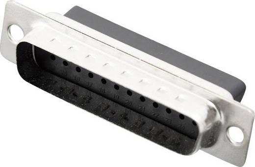 D-SUB Stiftleiste 180 ° Polzahl: 25 Crimpen MH Connectors MHDBC25-SP 1 St.