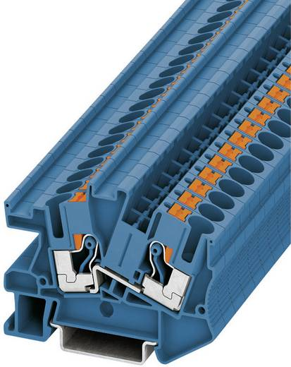 Push-In Durchgangs-Installationsklemme PTI PTI 6 BU Phoenix Contact Blau Inhalt: 1 St.