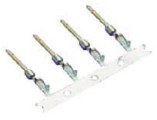 Stiftkontakt AWG min.: 28 AWG max.: 24 Vergoldet MH Connectors MHDBCTMR 1 St.