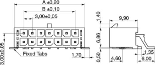Stiftleiste (Standard) Anzahl Reihen: 2 Polzahl je Reihe: 3 MPE Garry 437-4-006-0-T-KS0 160 St.