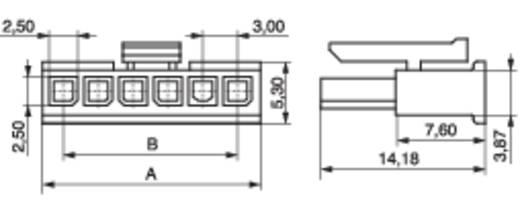 Buchsengehäuse-Kabel BLC Polzahl Gesamt 5 MPE Garry 433-1-005-X-KS0 Rastermaß: 3 mm 1000 St.