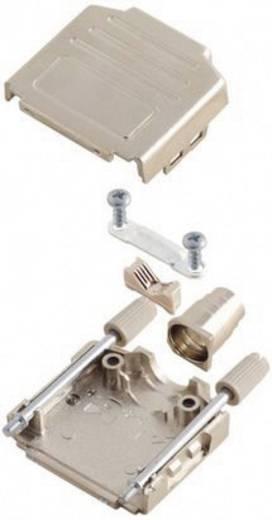 D-SUB Gehäuse Polzahl: 9 Kunststoff, metallisiert 180 ° Silber MH Connectors MHDPPK-M-09-K 1 St.