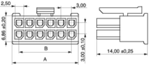 MPE Garry 433-2-010-X-KS0 Buchsengehäuse-Kabel BLC Polzahl Gesamt 10 Rastermaß: 3 mm 1000 St.