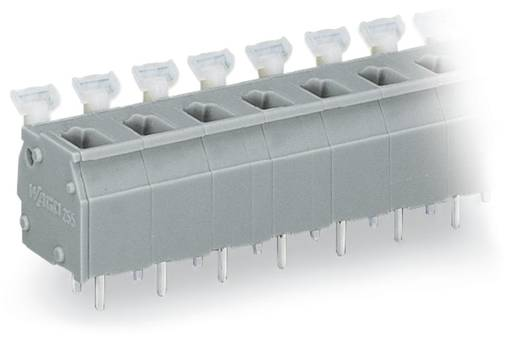 Federkraftklemmblock 2.50 mm² Polzahl 7 255-507 WAGO Grau 80 St.