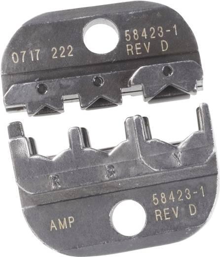 Matrize Schwarz 0.25 mm² 6.6 mm² TE Connectivity 169404 1 St.