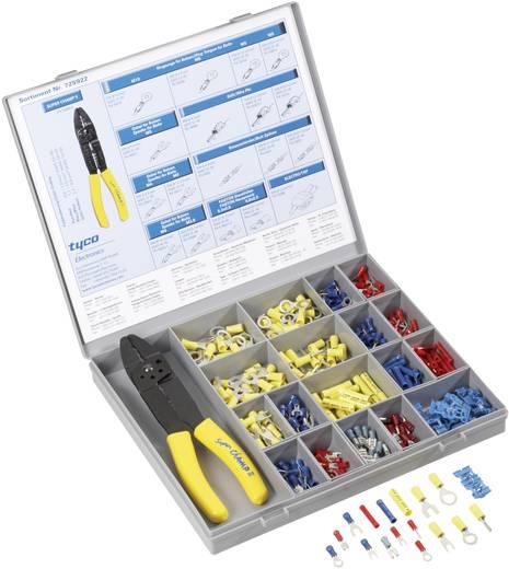 Quetschverbinder-Sortiment 0.205 mm² 2.50 mm² Rot, Blau, Gelb TE Connectivity 725922 351 St.