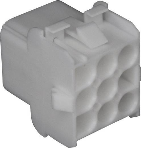 Buchsengehäuse-Kabel Universal-MATE-N-LOK Polzahl Gesamt 9 TE Connectivity 350782-1 Rastermaß: 6.35 mm 1 St.