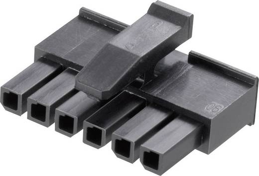 Buchsengehäuse-Kabel Micro-MATE-N-LOK Polzahl Gesamt 4 TE Connectivity 1445022-4 Rastermaß: 3 mm 1 St.