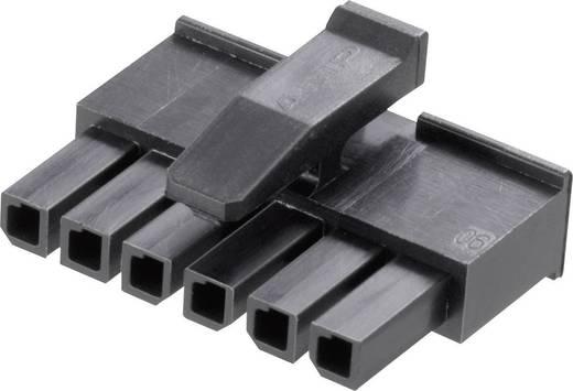 Buchsengehäuse-Kabel Micro-MATE-N-LOK Polzahl Gesamt 6 TE Connectivity 1445022-6 Rastermaß: 3 mm 1 St.