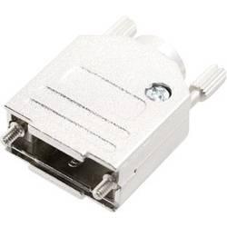 D-SUB púzdro MH Connectors MHDTZK-N-09-RA-K 6560-0105-01, Počet pinov: 9, kov, 180 °, strieborná, 1 ks