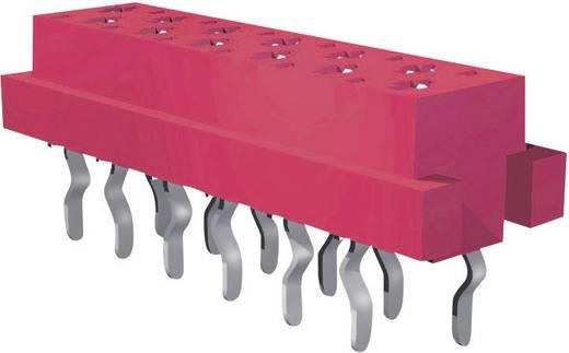 Buchsengehäuse-Platine Micro-MaTch Polzahl Gesamt 18 TE Connectivity 8-215079-8 Rastermaß: 1.27 mm 1 St.