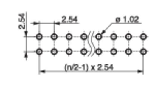 Stiftleiste (Standard) Anzahl Reihen: 2 Polzahl je Reihe: 18 MPE Garry 088-2-036-0-S-XS0-1080 300 St.