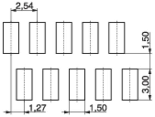 Buchsengehäuse-Platine BL Polzahl Gesamt 8 MPE Garry 374-2-008-0-NTX-KT0 Rastermaß: 1.27 mm 205 St.