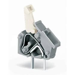 Pružinová svorka WAGO 256-401/332-000, 2.50 mm², Počet pinov 1, sivá, 600 ks