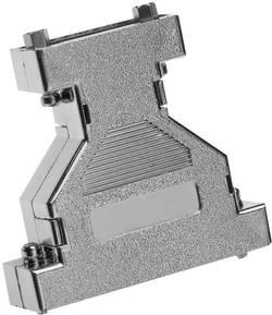 Image of D-SUB Adaptergehäuse Polzahl: 15, 15 Kunststoff, metallisiert 180 ° Silber Provertha 671515M 1 St.
